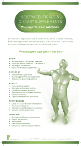 Nutraceuticals_brochure_pharmaseed