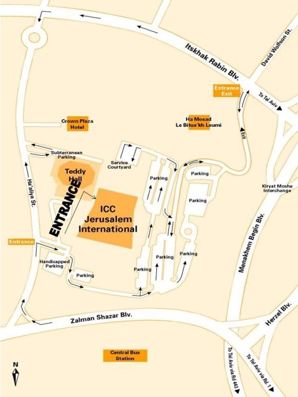 Parking Map English